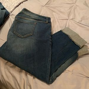 Like new boyfriend cut jeans